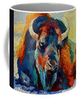 Winter Bison Coffee Mug