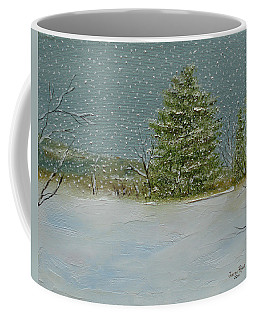 Winter Blanket Coffee Mug