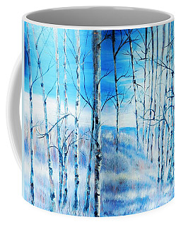 Winter Blues Coffee Mug