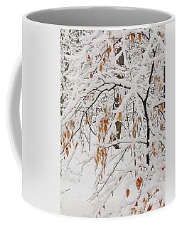 Winter Branches Coffee Mug by Ann Horn