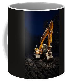 Winter Cat Coffee Mug by David Andersen
