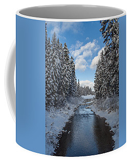 Winter Creek Coffee Mug by Fran Riley