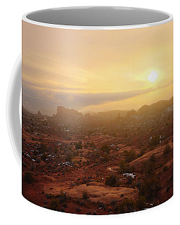 Winter Desert Glow Coffee Mug