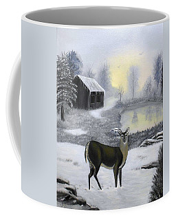 Winter Doe Coffee Mug