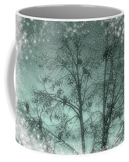 Winter Doves Coffee Mug