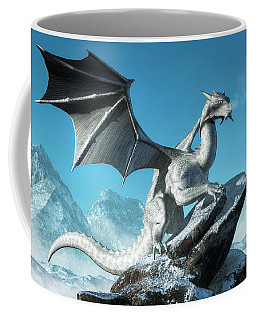 Winter Dragon Coffee Mug