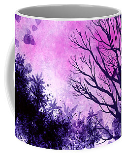 Coffee Mug featuring the painting Winter Dreams  by Persephone Artworks