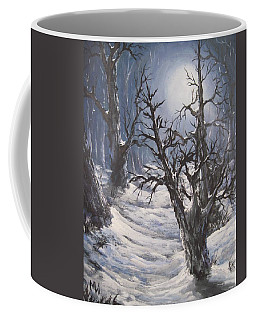 Winter Eve Coffee Mug by Megan Walsh
