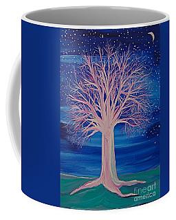 Winter Fantasy Tree Coffee Mug by First Star Art
