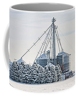 Winter Farm  7365 Coffee Mug