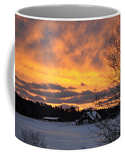 Winter Fire Coffee Mug