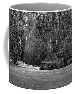 Winter Ford Truck 1 Coffee Mug