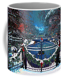 Winter Garden Coffee Mug