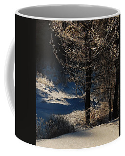 Coffee Mug featuring the photograph Winter Glow by Mim White