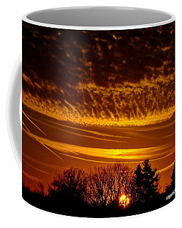 Winter Gold Coffee Mug