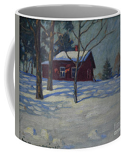 Winter House Coffee Mug
