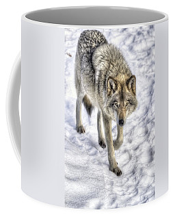 Winter Hunter Coffee Mug