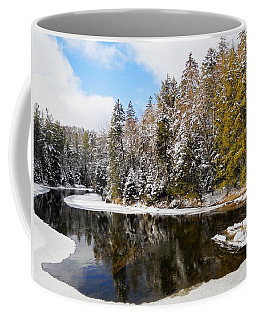 Coffee Mug featuring the photograph Winter Impressions ... by Juergen Weiss