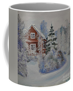 Winter In Finland Coffee Mug