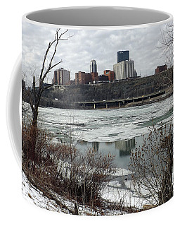 Winter In Pittsburgh Coffee Mug