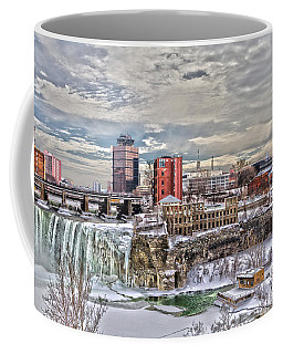 Coffee Mug featuring the photograph Winter In Rochester by William Norton