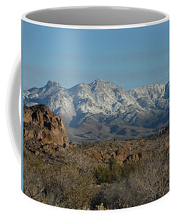 Winter In The Haulapai's Coffee Mug