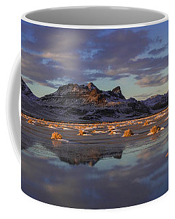 Winter In The Salt Flats Coffee Mug