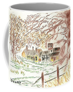 Winter In The Village Coffee Mug by Tracey Williams