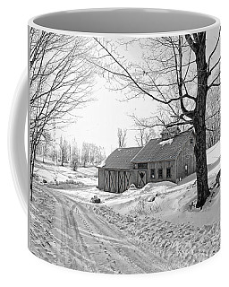 Winter In Vermont Coffee Mug by Marcia Lee Jones