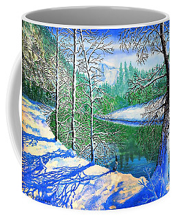 Winter In Yosemite Coffee Mug