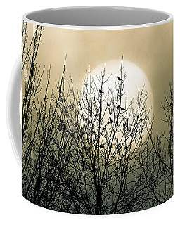 Coffee Mug featuring the photograph Winter Into Spring by Bob Orsillo