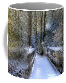 Winter Light On Bridge Coffee Mug