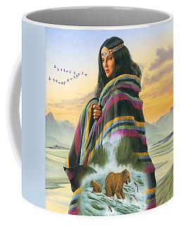 Winter Maiden Coffee Mug