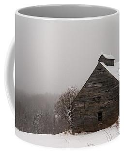 Winter Maine Barn Coffee Mug