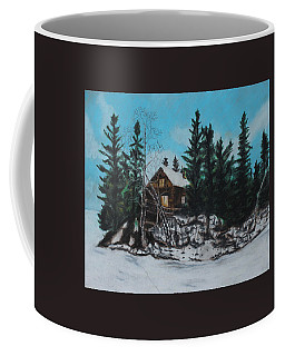 Winter Marshland Coffee Mug