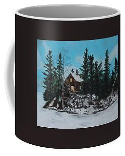 Winter Marshland Coffee Mug by Jeanne Fischer
