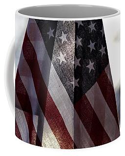 Winter Morning Patriotism Coffee Mug