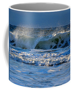Winter Ocean At Nauset Light Beach Coffee Mug
