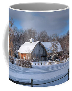 Winter On The Farm 14586 Coffee Mug