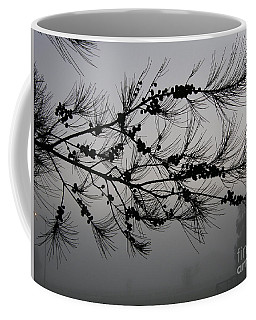 Winter Pine Branch Coffee Mug