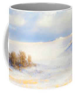 Winter Poplars Coffee Mug