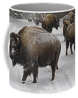 Winter Procession-signed Coffee Mug