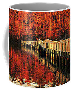 Coffee Mug featuring the photograph Winter Reds by Ola Allen