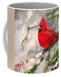 Winter Rest Coffee Mug by Carole Foret