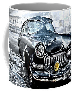 Winter Road Warrior Coffee Mug