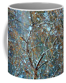 Winter Robin Coffee Mug by Kathy Bassett