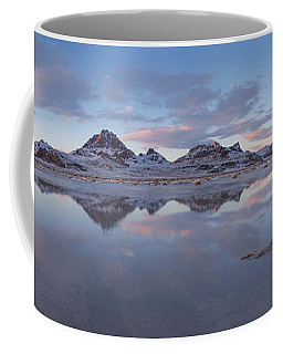 Winter Salt Flats Coffee Mug