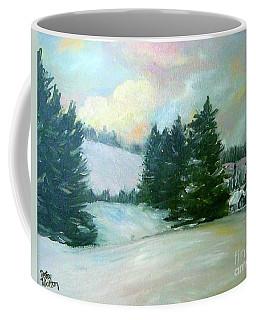 Winter Sang In The Chimneys Coffee Mug