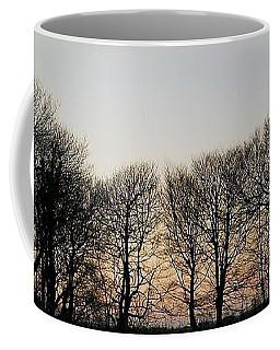 Winter Skyline Coffee Mug