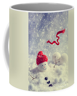 Winter Snowman Coffee Mug